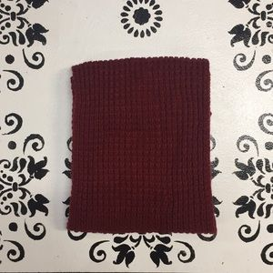 Accessories - Maroon infinity scarf